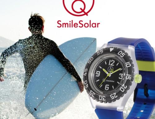 Découvrez les montres Smile Solar réalisées en plastique recyclé