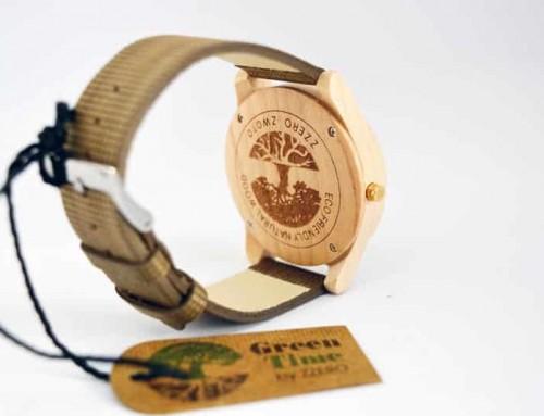 Les montres vegan : des bracelets en fibres de bambou