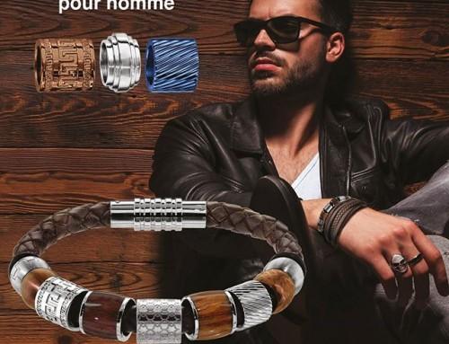Les bracelets thabora steel : le bijou pour homme personnalisable